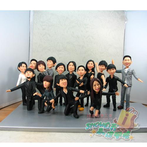 11人团队创意造型图片_团队创意造型图片图片